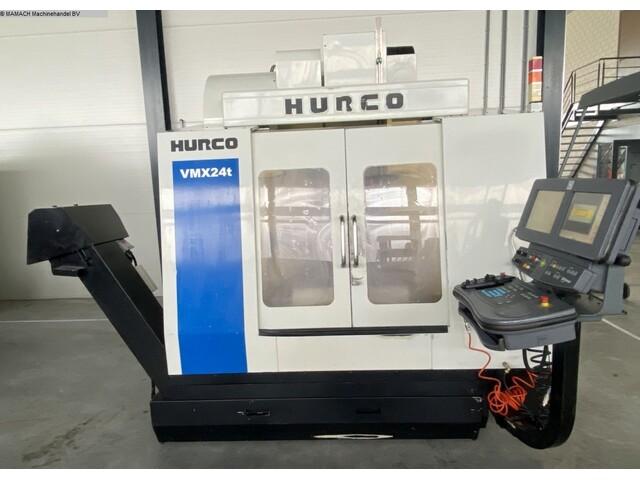 più figure Fresatrice Hurco VMX 24 T