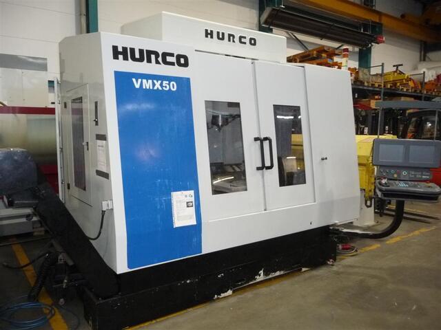 più figure Fresatrice Hurco VMX 50 /40 T NC Schwenkrundtisch B+C axis
