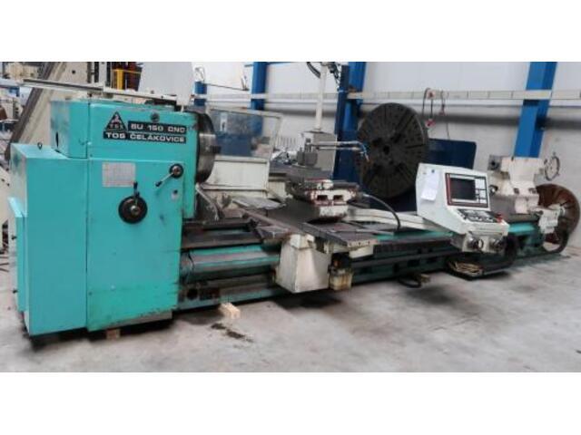 più figure Tornio TOS SU 150 CNC 5000